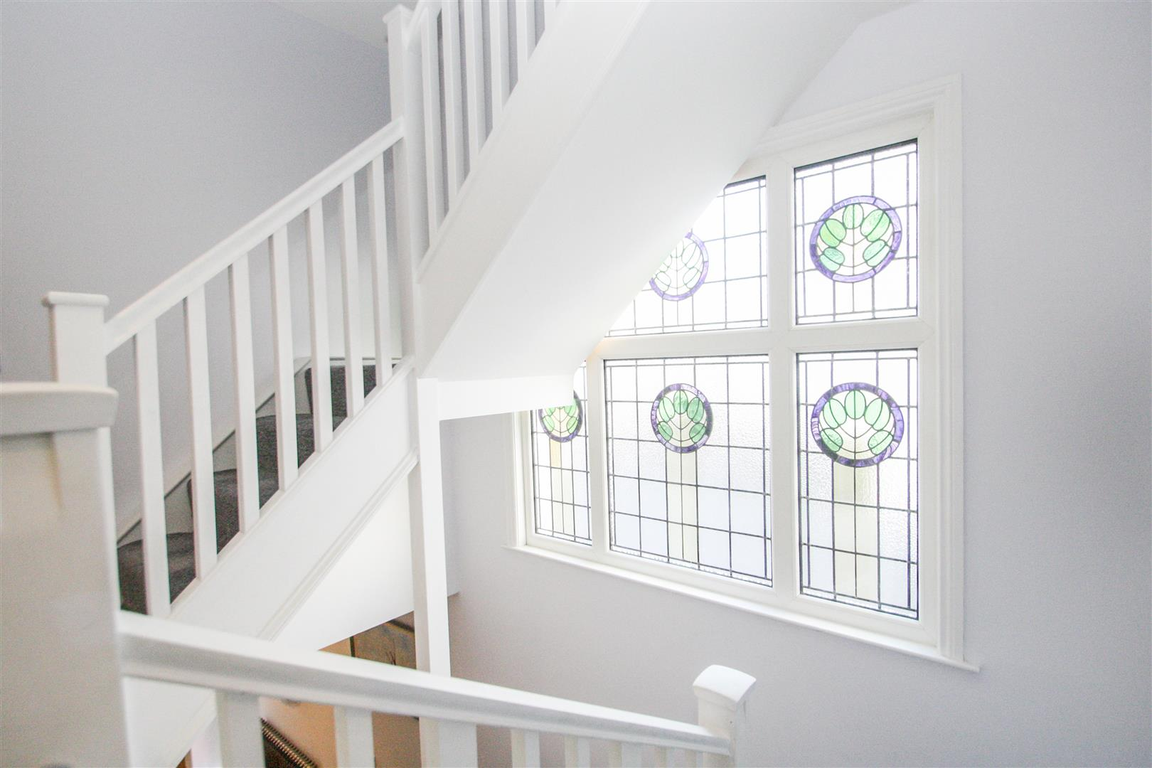 Staircase - Stained Glass